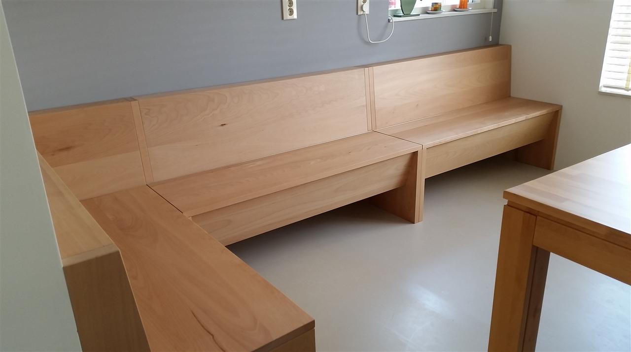 Hoekbank keuken meubelmakerij en restauratie onno marr - Keuken met bank ...